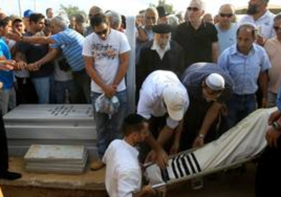 Rocket victim Moshe Ami laid to rest
