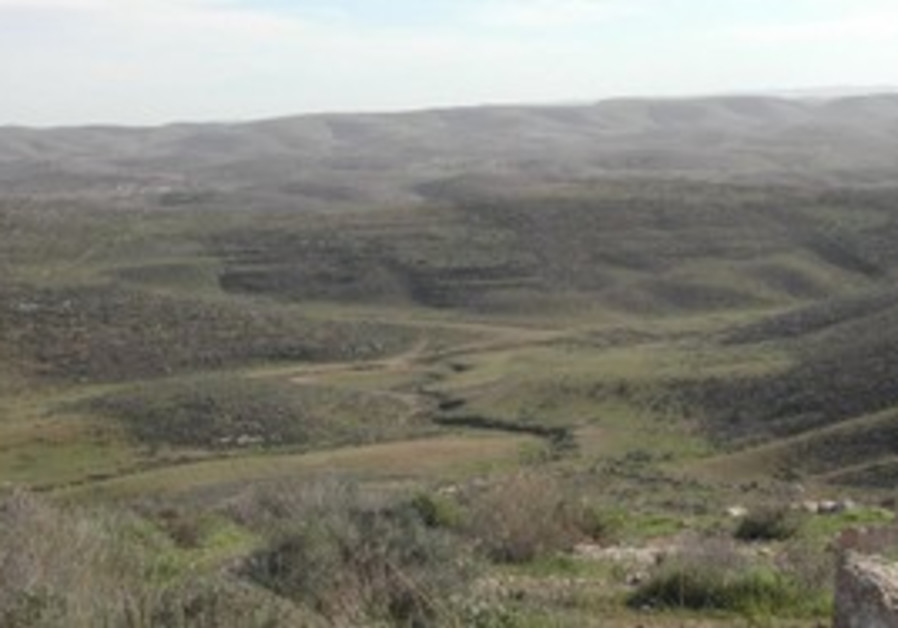Northern Negev area slated for new towns