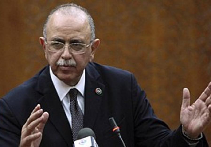 Libya's new interim PM, Abdul Raheem al-Keeb