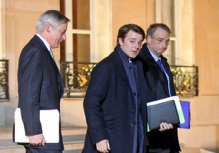 French FM, Bank of France governor