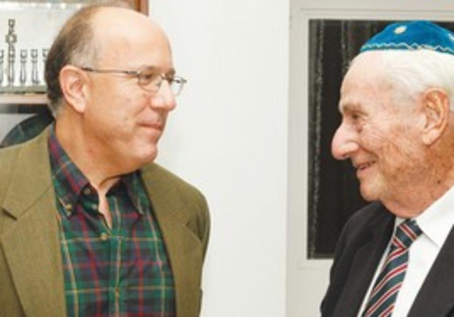 David Brinn and former SC justice Gavriel Bach