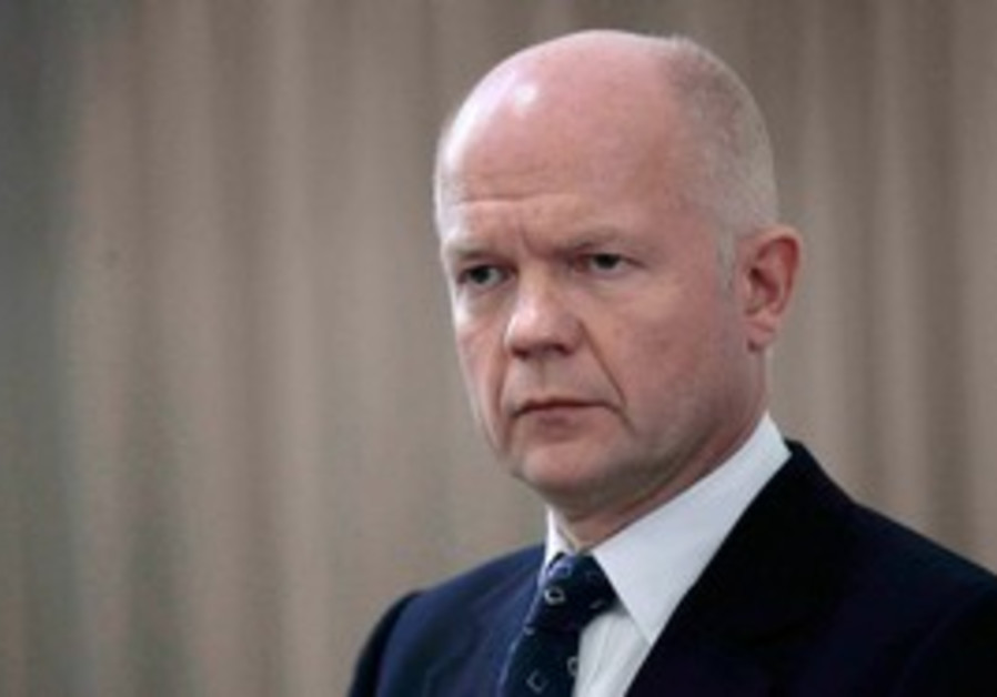 UK Foreign Secretary William Hague [file]
