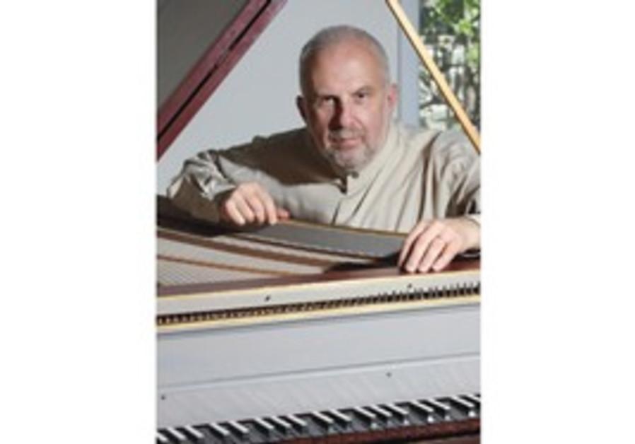 David Shemer at the Piano