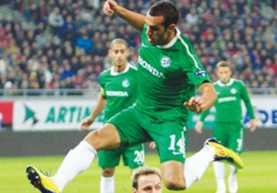 Maccabi Haifa Striker Weeam Amasha
