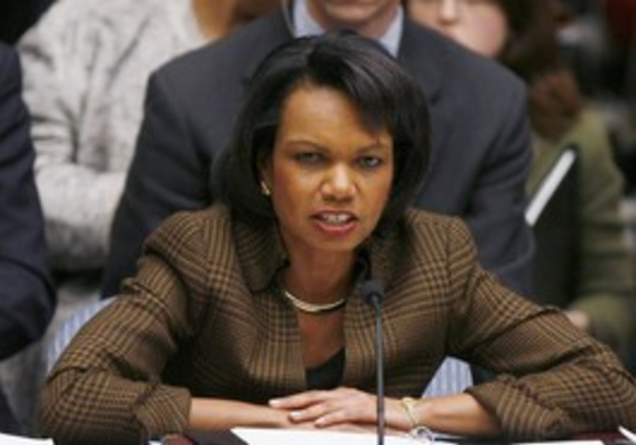 Former Secretary of State Condoleezza Rice