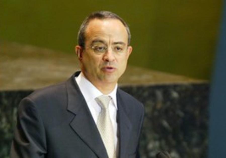 Jordanian FM Marwan Muasher