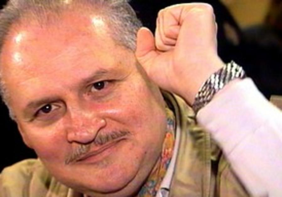 """Carlos the Jackal"", raises fist in court [file]"