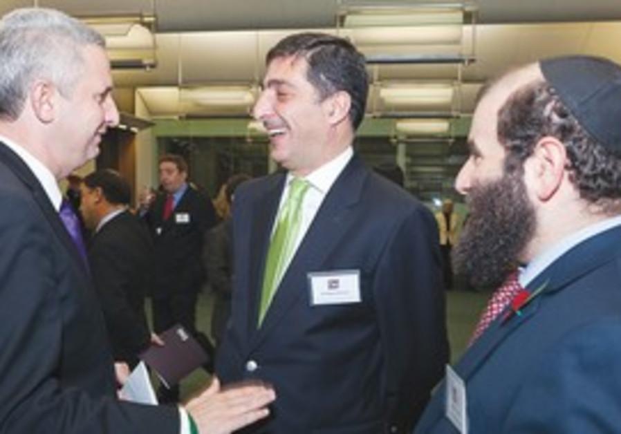 MP IVAN LEWIS, Jordanian UK envoy at Tag ID event