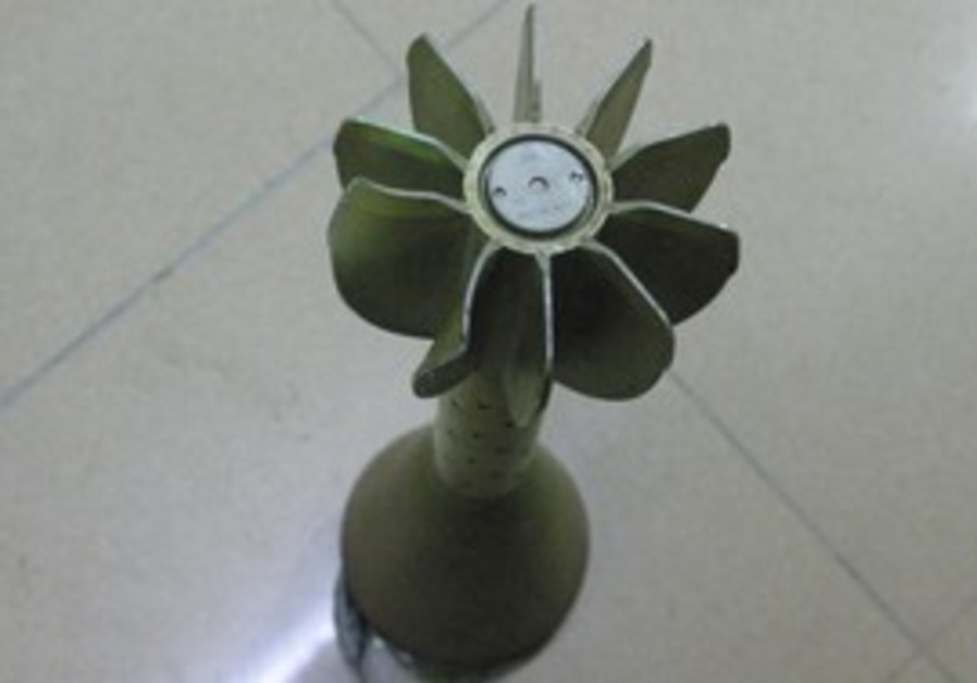 A Libyan Cluster Bomb [Illustrative]