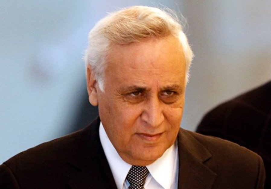 Moshe Katsav leaves the Supreme Court