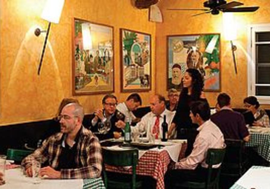 Bellini restaurant, Tel Aviv