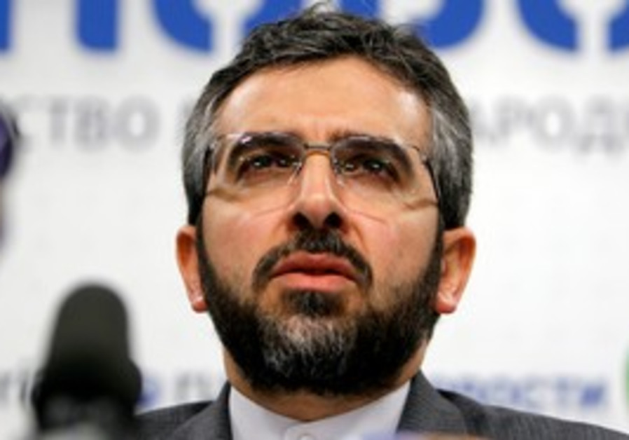 Iranian security official Ali Baqeri
