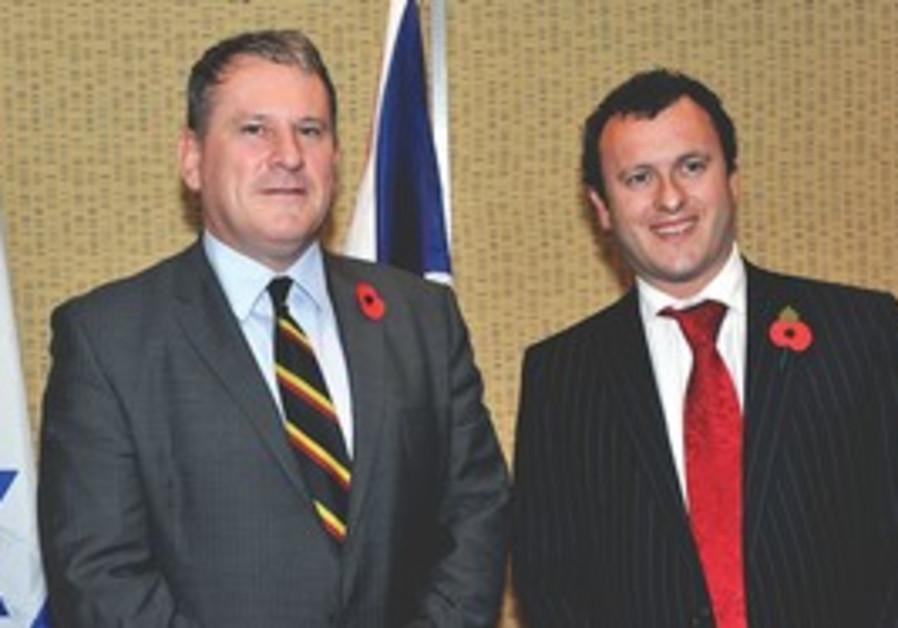 RICHARD KEMP and  Matthew Gould at Balfour dinner