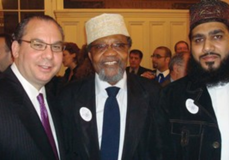 Rabbi Marc Schneier meets with Muslim imams
