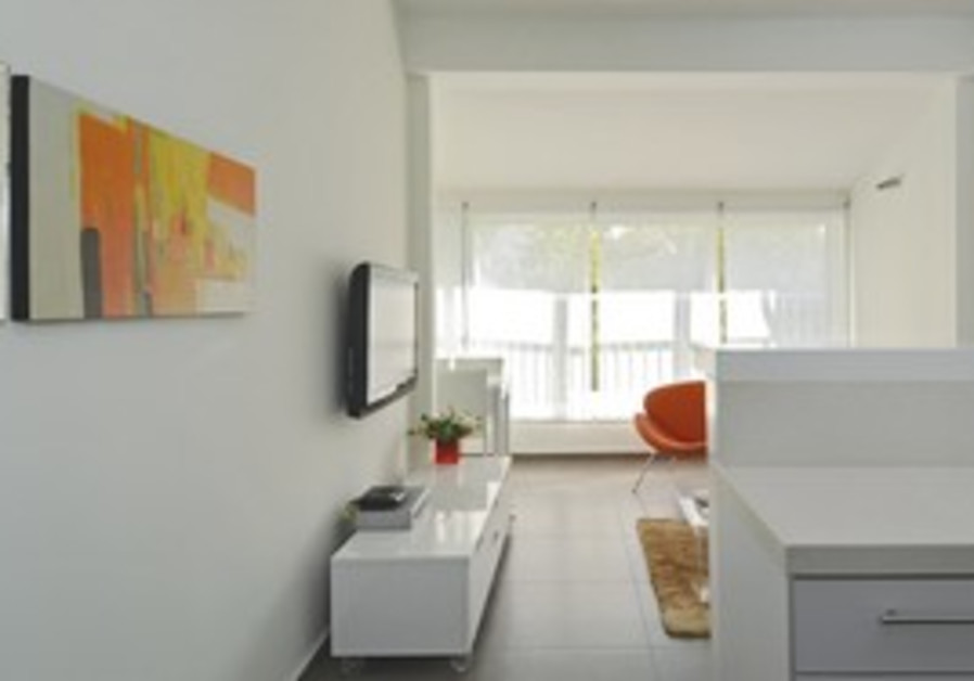 Designing a modern apartment on a budget.