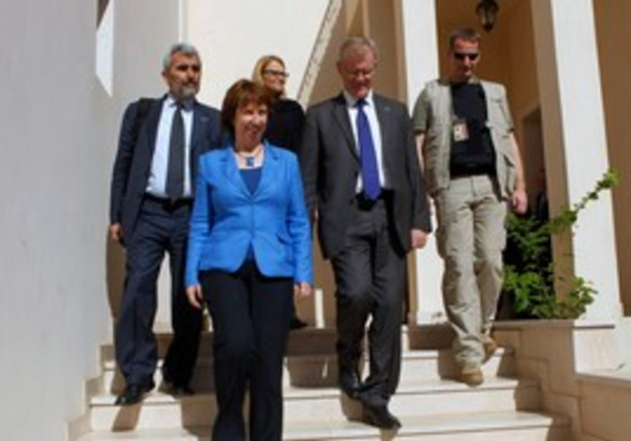 Ashton opens EU mission in Libya