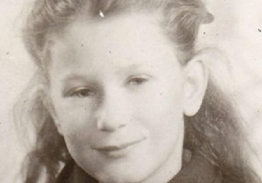 Zvia Nizard, shown at age 7 in 1946.