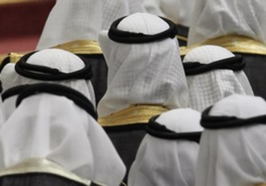 Saudi Arabian men [illustrative]