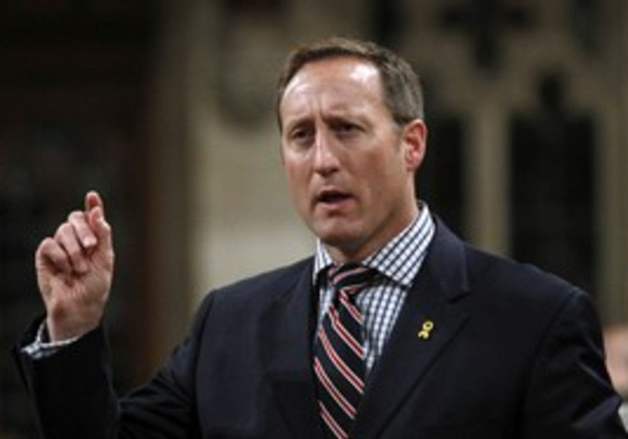 Canadian Defense Minister Peter MacKay