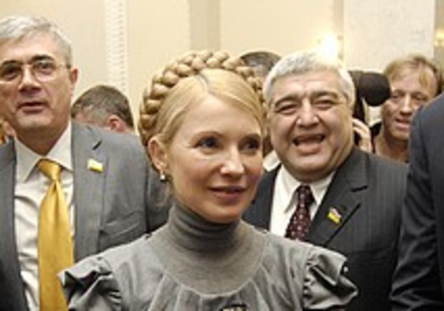 Ukraine's president nominates Yulia Tymoshenko for PM