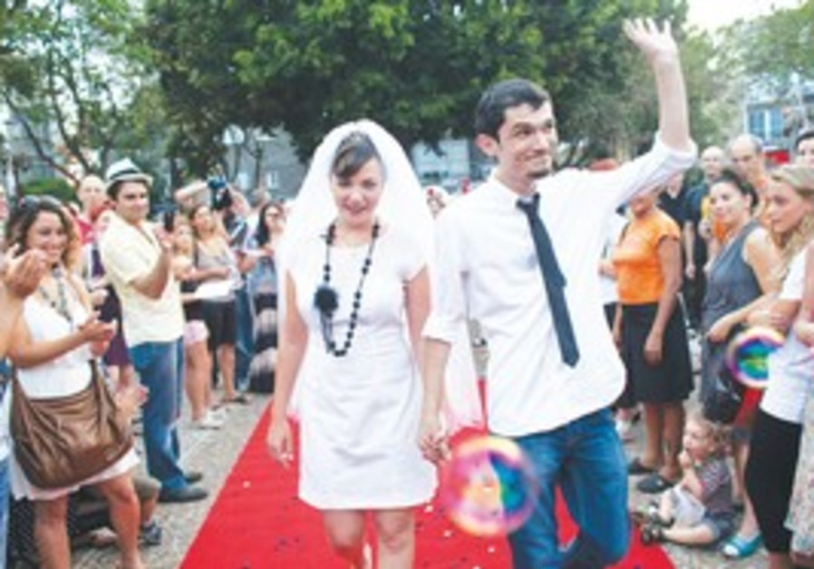 Alternative wedding, Tel Aviv