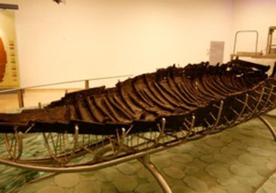 Abandoned ship resurfaces at Nof Ginosar