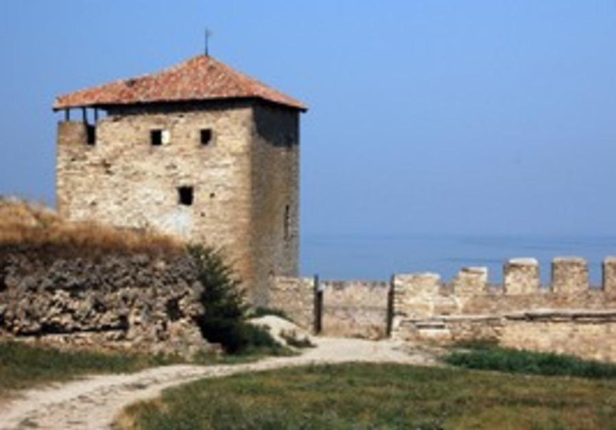Medieval citadel near Odessa
