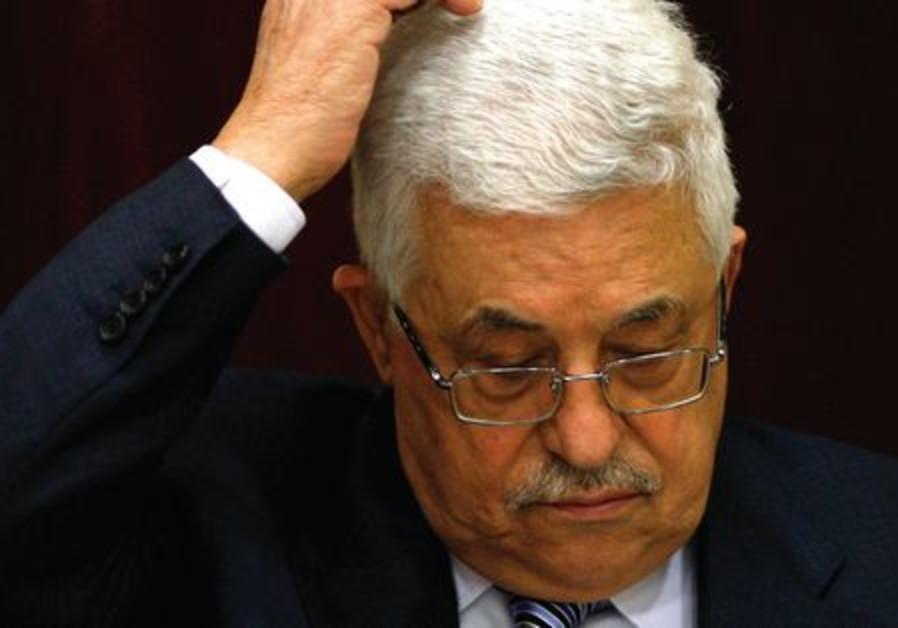 Abbas at UN statehood vote