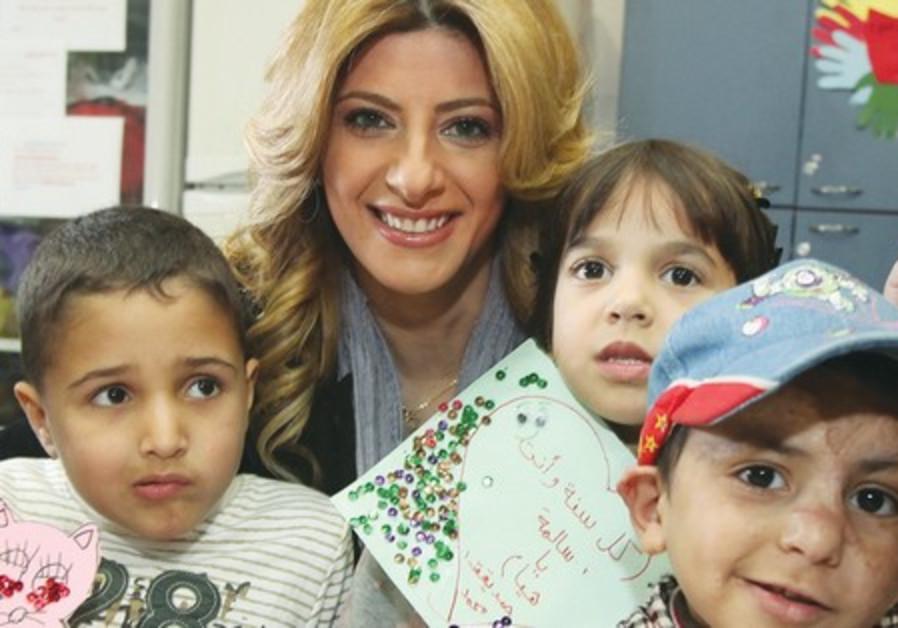 Sarit Hada at Alyn Hospital
