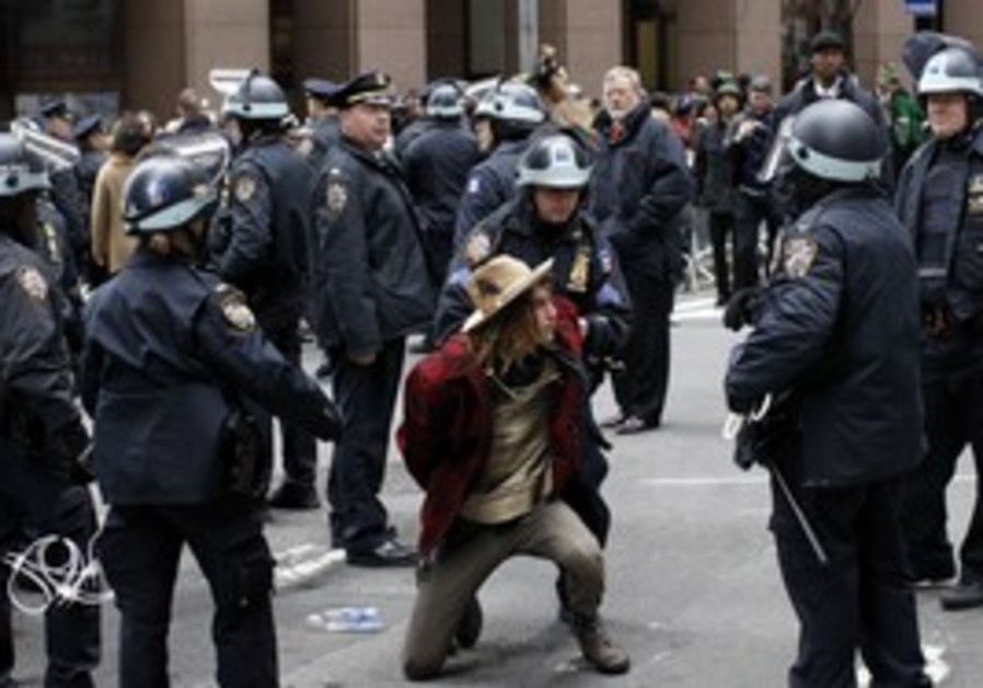 police thwart Occupy Wall Street protest