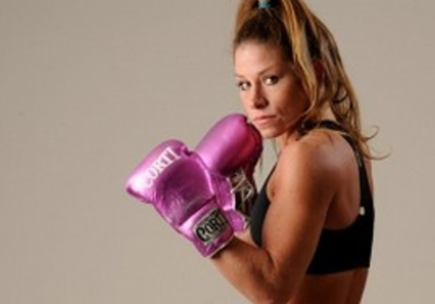 Jewish Argentinian boxer Carolina Raquel Duer.