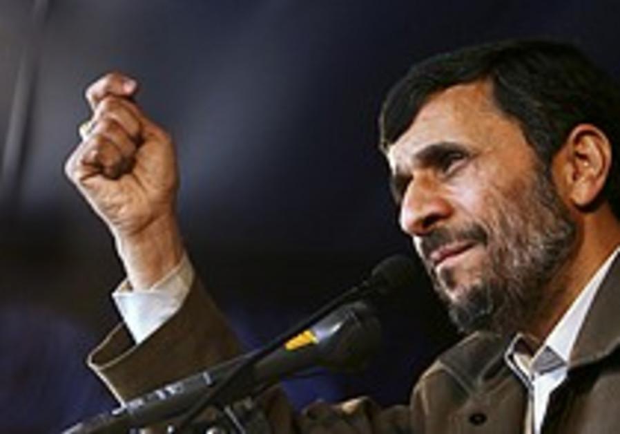 'Ahmadinejad's threats harming Iran'
