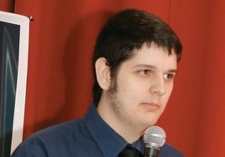 Student at ORT addresses Jewish Agency