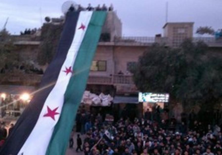 1961-1963 Syrian Flag