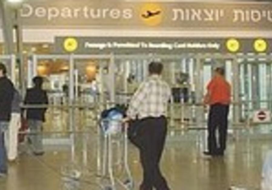 Ben Gurion, departures/arrivals