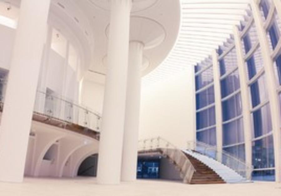 The new Habimah foyer