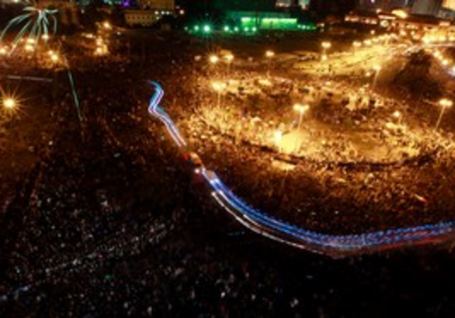 Protesters fill Cairo's Tahrir Square