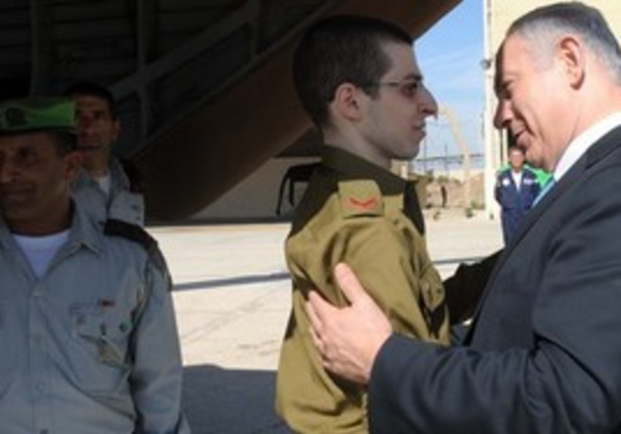 Gilad Schalit  and Netanyahu