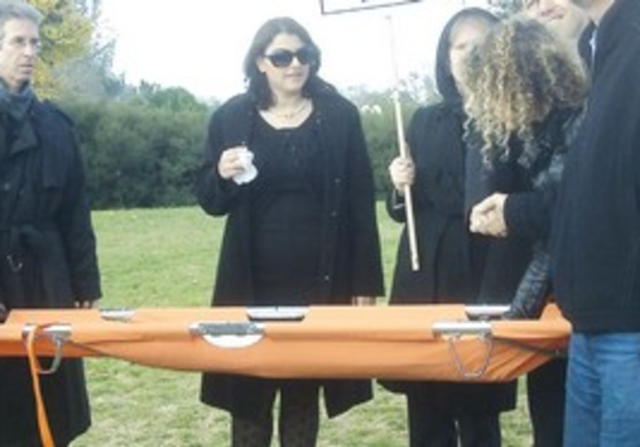 'Funeral' for the Dead Sea