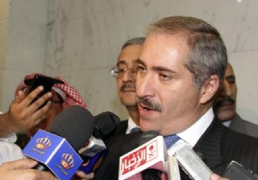 Jordanian FM Nasser Judeh after GCC conference