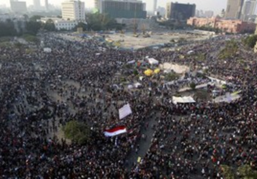 Egypt Tahrir Square million-man