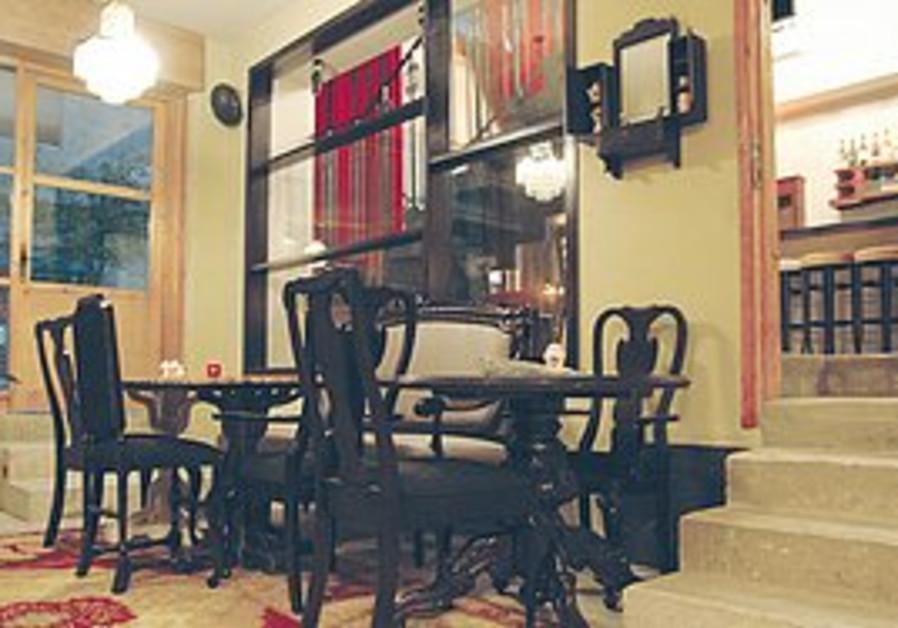Inside Racha restaurant, Jerusalem