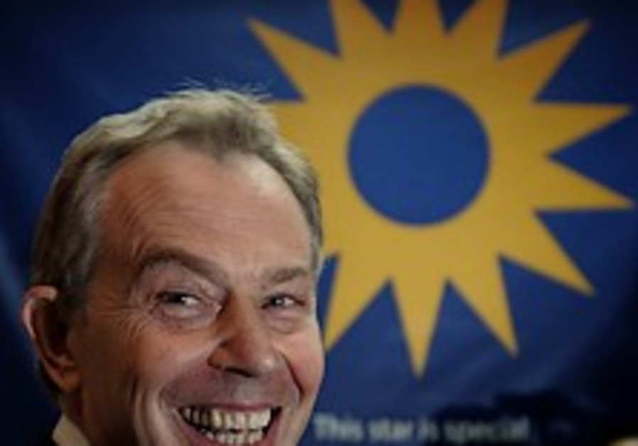 Blair urges world to pledge aid to PA