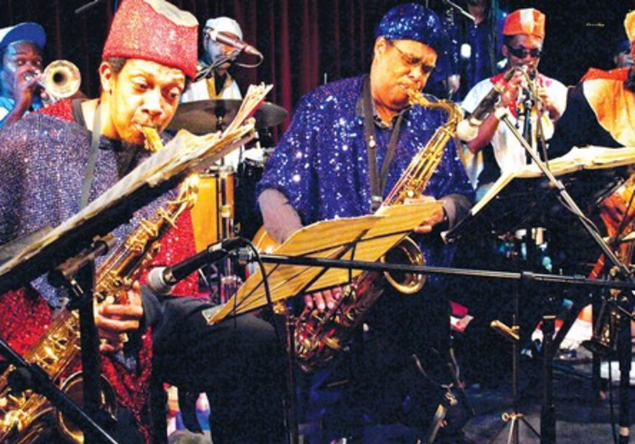 The Arkestra is a show band.