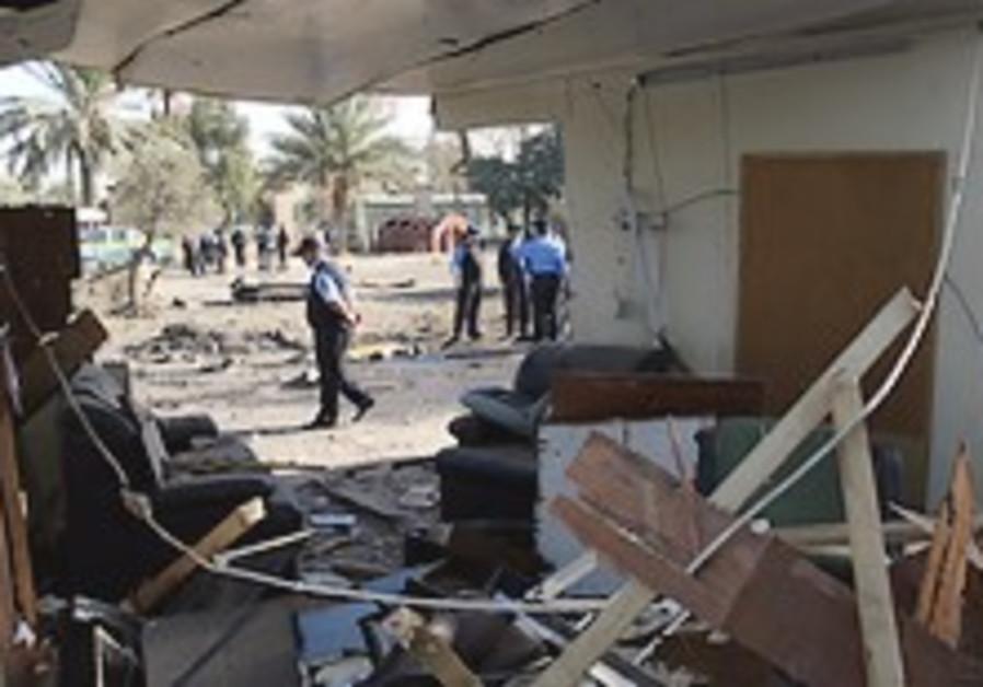 Synchronized car bombs in Iraq kill 27