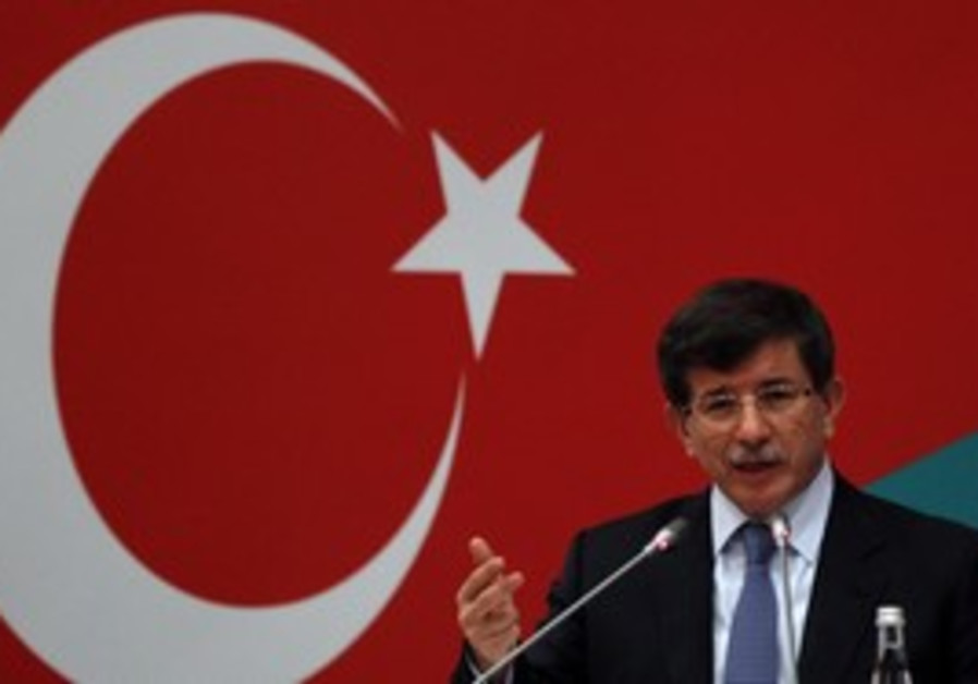 Turkish FM Davutoglu, Turkish-Italian Forum