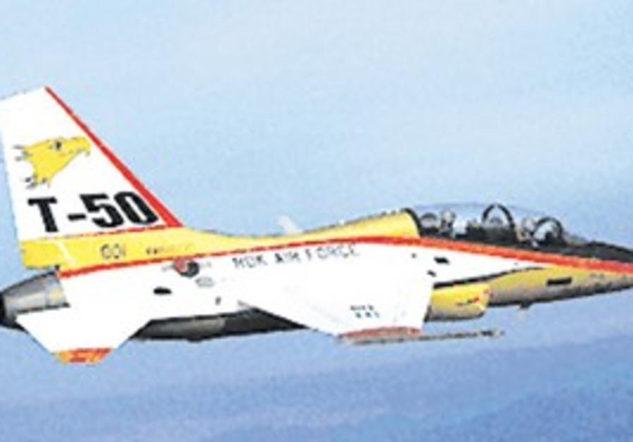 Korean Aerospace Industries' T-50 advanced trainer