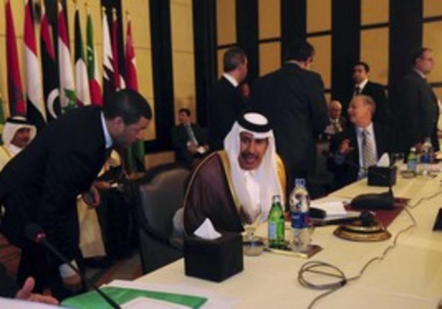 Qatar PM and FM Sheikh Hamad bin bin Jassim al-Tha