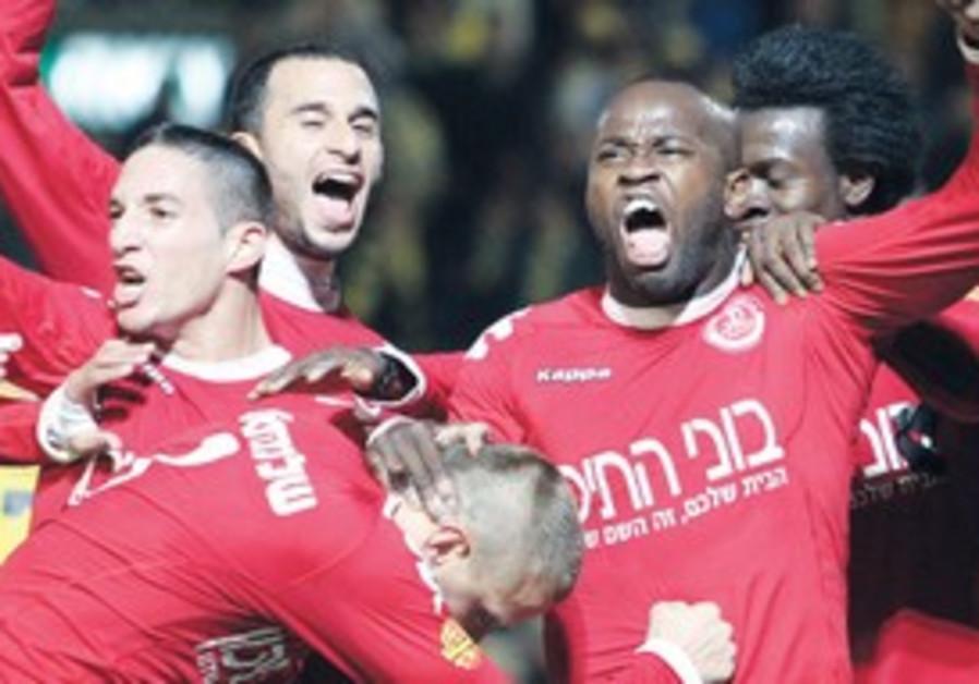 Hapoel Tel Aviv celebrates