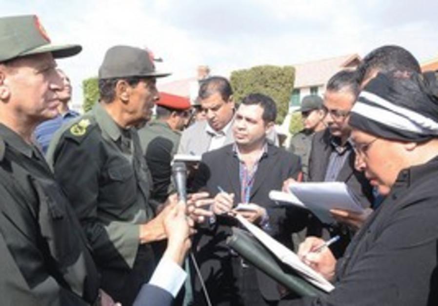 Egypt military leader Tantawi promises safe polls
